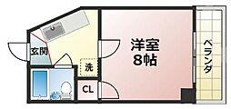 ノアーズアーク深江橋[8階]の間取り