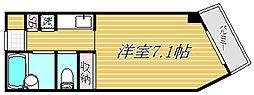 東京都目黒区中目黒5丁目の賃貸マンションの間取り