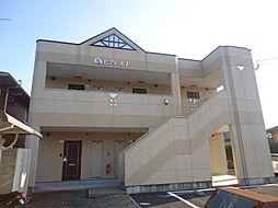 鹿児島県霧島市隼人町松永2丁目の賃貸アパートの外観