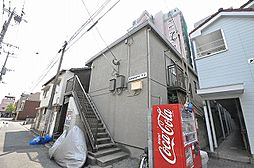 福岡県北九州市戸畑区銀座1丁目の賃貸アパートの外観