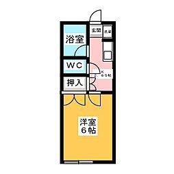 大泉ハイツ[1階]の間取り