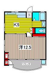 KSKハイツ[4階]の間取り