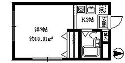 ライフピア新宿[301号室]の間取り