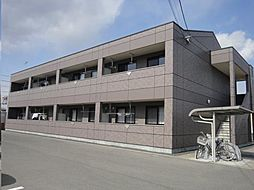 広島県福山市駅家町大字上山守の賃貸マンションの外観