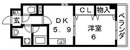 ヴァンベール[305号室号室]の間取り