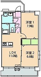 SCELTO・K[1階]の間取り