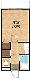 パインリッチ1[3階]の間取り