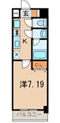 ドムスアライ2[3階]の間取り
