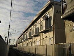 ハイソフトパナタウン東栄D[1階]の外観