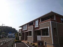 鹿児島県日置市伊集院町下神殿の賃貸アパートの外観