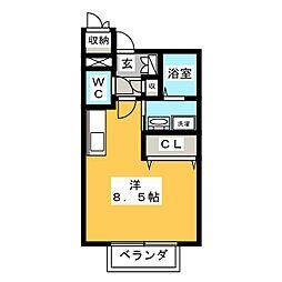 グレース[1階]の間取り