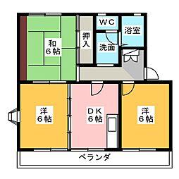 ヴィラ本郷I[1階]の間取り