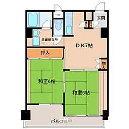 新長田駅前[14階]の間取り