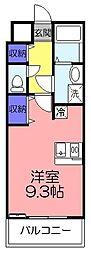 ツリーデン松戸II[4階]の間取り