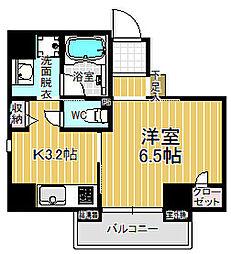 愛知県名古屋市中村区亀島2丁目の賃貸マンションの間取り