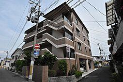 兵庫県尼崎市南武庫之荘9丁目の賃貸マンションの外観
