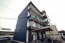 大阪府東大阪市御厨東1丁目の賃貸アパートの外観
