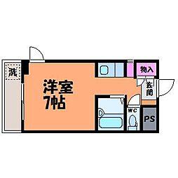 グランドハイム本町[5階]の間取り