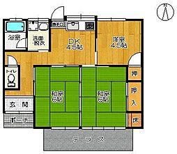 [一戸建] 佐賀県佐賀市高木瀬東4丁目 の賃貸【/】の間取り