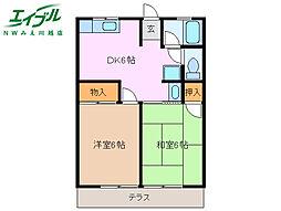 伊勢朝日駅 4.4万円