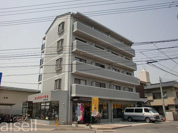 広島県広島市佐伯区隅の浜2丁目の賃貸マンションの外観