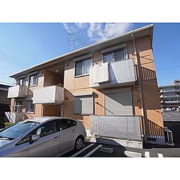 奈良県大和高田市大中の賃貸アパートの外観