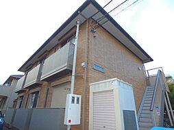 埼玉県蕨市中央5丁目の賃貸アパートの外観