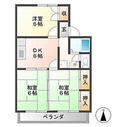 ベーシックハウス C[2階]の間取り