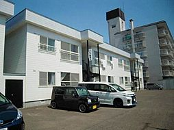 北海道札幌市東区北四十一条東4丁目の賃貸アパートの外観
