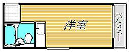 東京都目黒区緑が丘2丁目の賃貸マンションの間取り