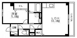 Presence今8丁目[3階]の間取り