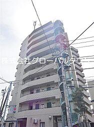 東京都葛飾区奥戸5の賃貸マンションの外観