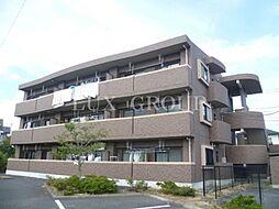 東京都昭島市大神町2丁目の賃貸マンションの外観