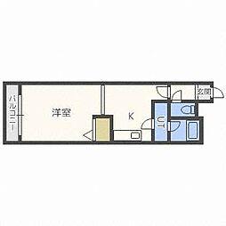 ベル31A[3階]の間取り