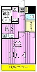 SHINTOKYO BLD.VI[6階]の間取り