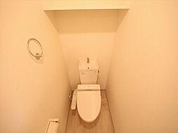 プロビデンス葵タワーの洋式トイレ(温水洗浄便座付)