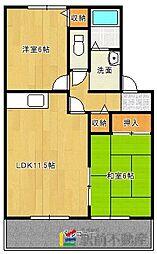 フローラ新栄[A202号室]の間取り