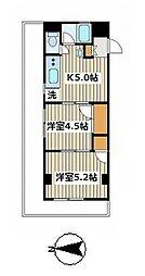 豊玉第二コーポラス[7階]の間取り