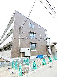 神奈川県藤沢市鵠沼神明3丁目の賃貸アパートの外観