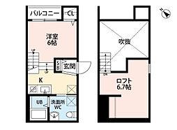 ソアレ博多[1階]の間取り