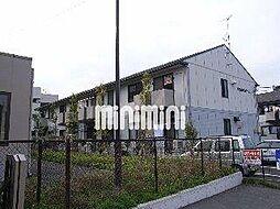 静岡県御殿場市東田中の賃貸アパートの外観