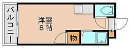ボナミ博多[2階]の間取り