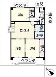 OHIビル[4階]の間取り