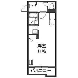 レジデンス南27[3階]の間取り