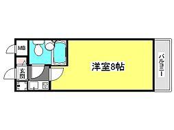 兵庫県神戸市垂水区千鳥が丘3丁目の賃貸マンションの間取り