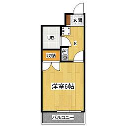メゾングランドール[2階]の間取り
