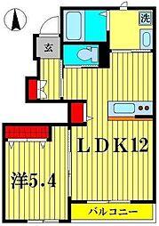 f springII[1階]の間取り