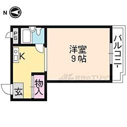 【敷金礼金0円!】京都地下鉄東西線 二条城前駅 徒歩6分