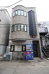北海道札幌市中央区南五条西11丁目の賃貸アパートの外観