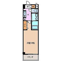 三重県四日市市天カ須賀1丁目の賃貸マンションの間取り